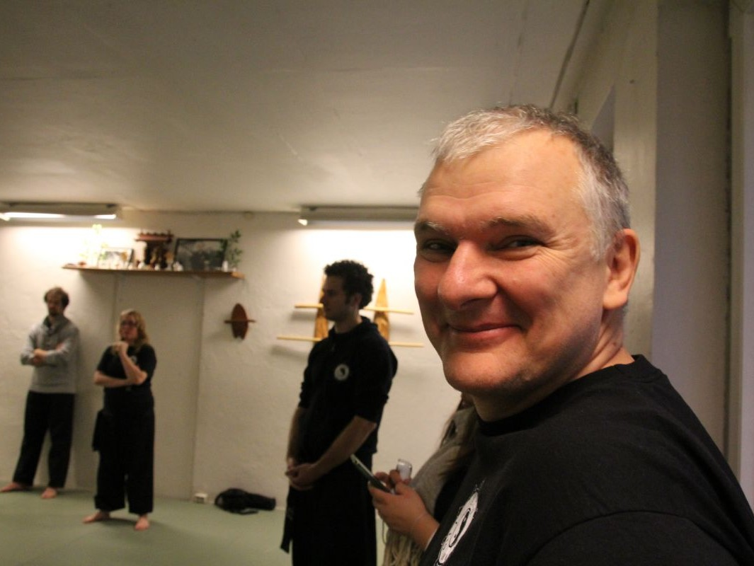 Jacek Krajewski, Oslo, seminarium I Liq Chuan z Mistrzem Sam Chinem (foto: www.ilc.no)